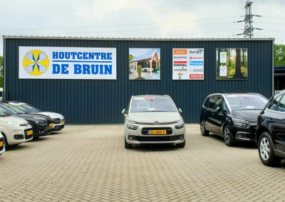 Houtcentre de Bruin Enschede X-Tens Systeem Outdoorsigning