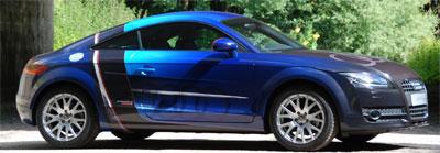 Carwrap-Audi-voorbeeld