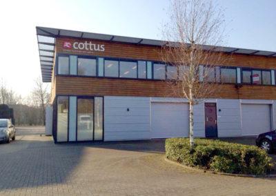 Cottus Helmond Gevelreclame