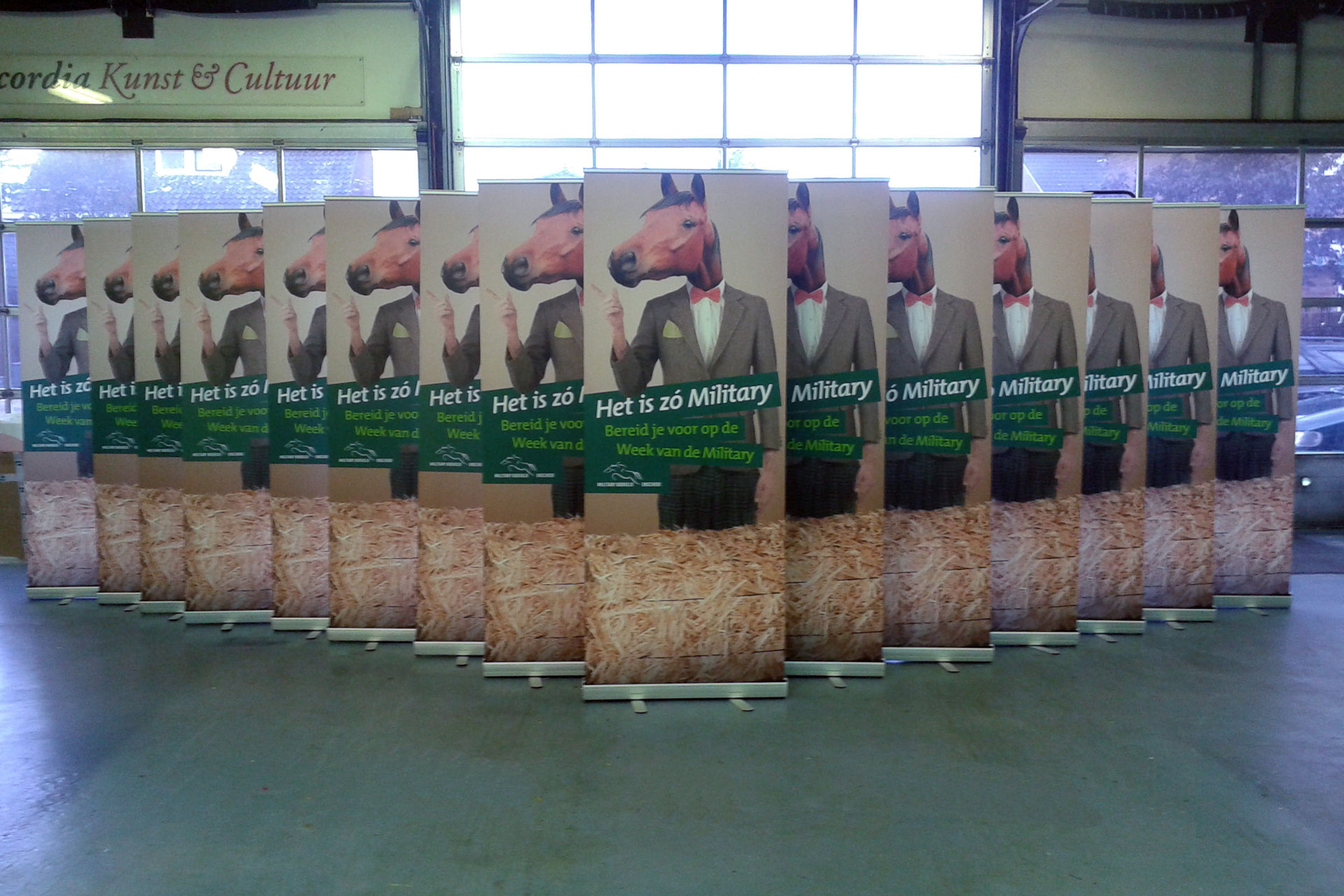Military Boekelo Roll-up Banners