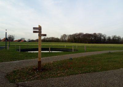 Crematoria Twente Houten Bewegwijzering Outdoorsigning