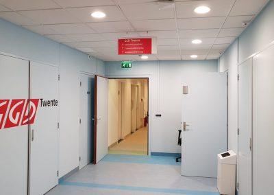 Regio Twente Enschede Bewegwijzering Indoorsigning