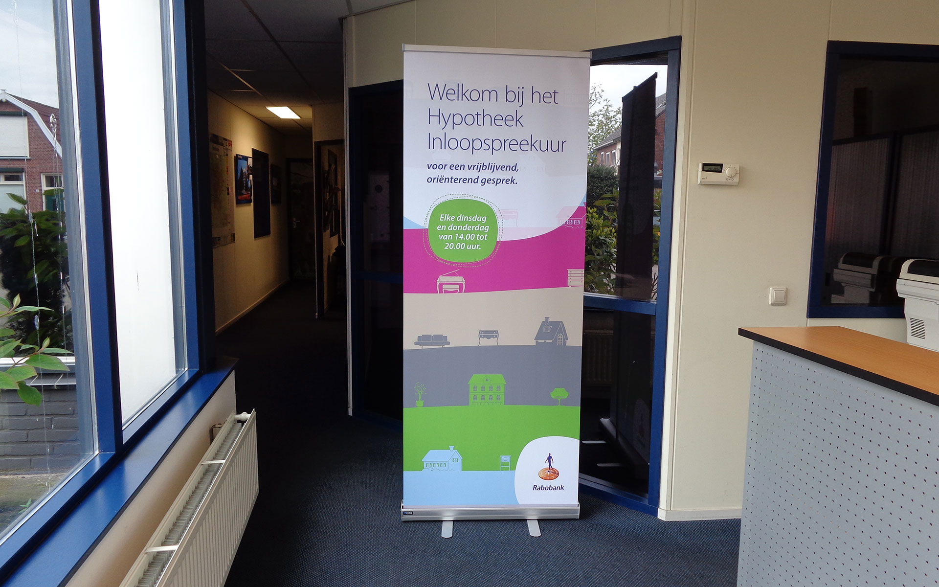 Rabobank Roll-up Banner