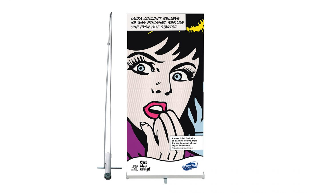 Roll-up Banner Compact Diverse Afmetingen