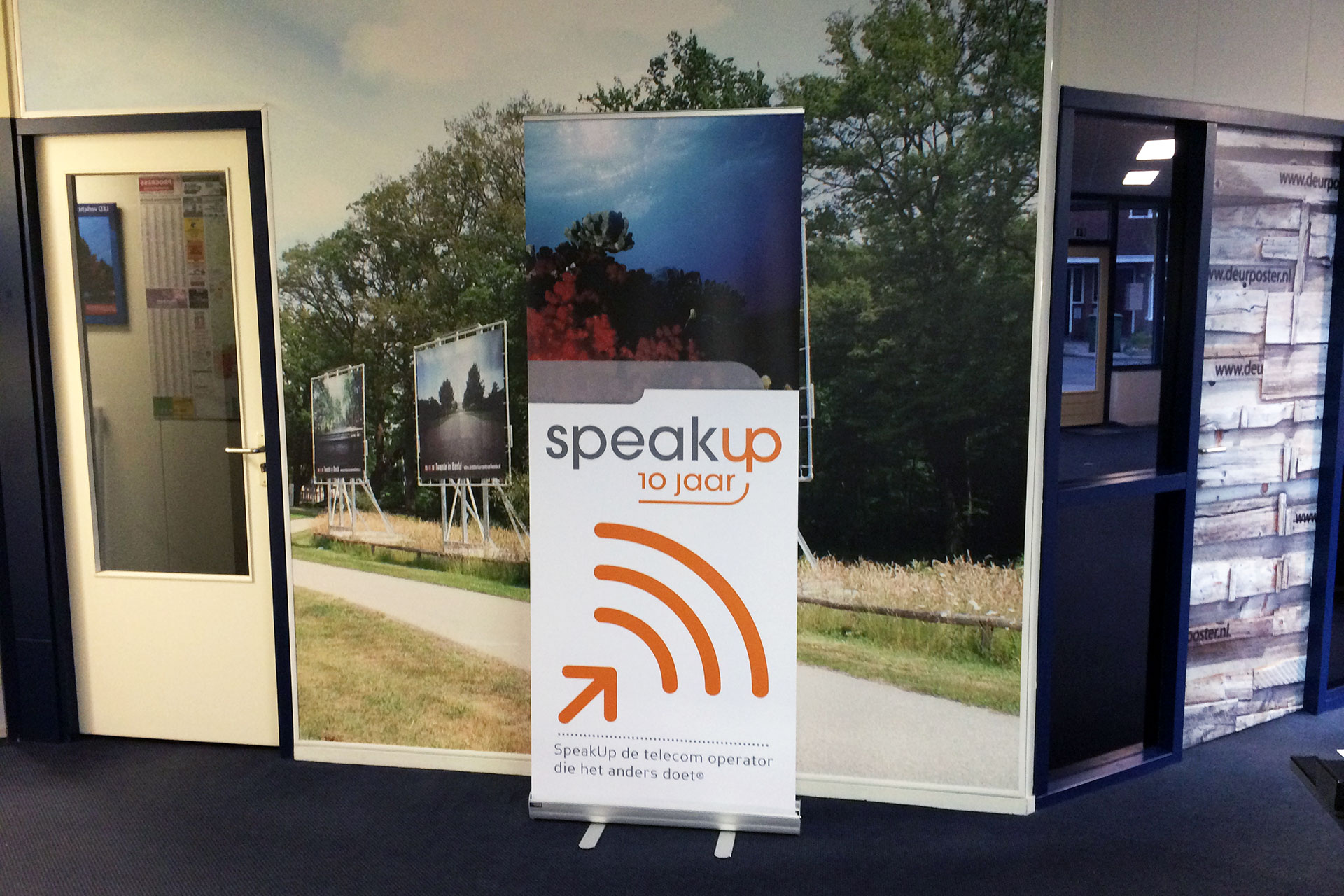 SpeakUp Roll-up Banner