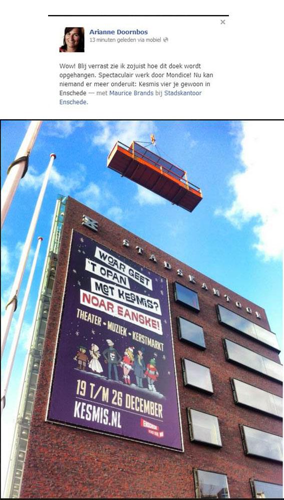 Stadskantoor Enschede Doornbos Banner