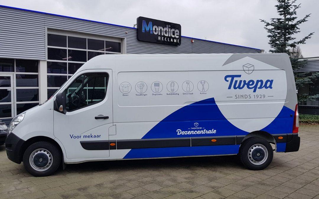 Twepa Enschede Renault Master Voertuigreclame Conform Huisstijl