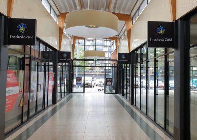 Winkelcentrum Enschede Zuid Soft-image Systemen en Acrylox